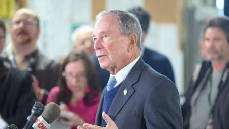 Bloomberg gasta 34 millones de dólares en anuncios de campaña en 46 estados
