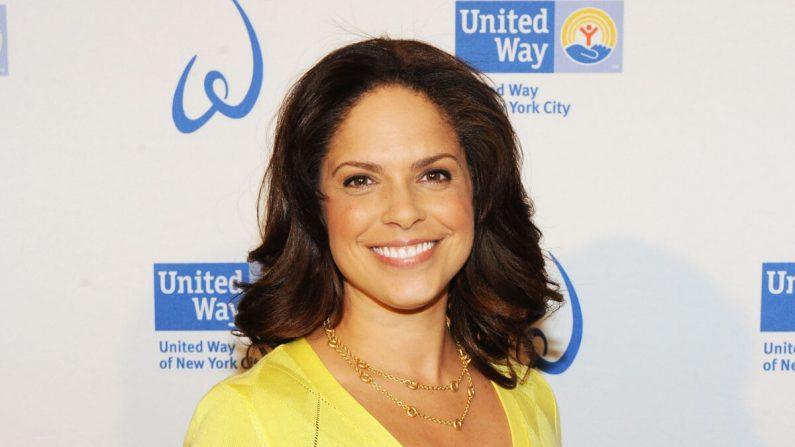 Periodista estadounidense y expresentadora de CNN en The Plaza Hotel en la ciudad de Nueva York el 3 de abril de 2012. (Slaven Vlasic/Getty Images)