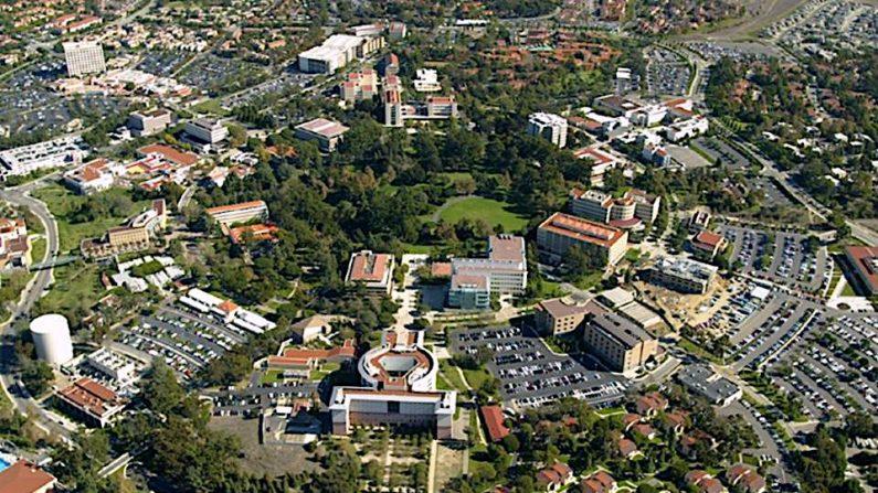 Una vista aérea de la Universidad de California Irvine. (Complejo01/Wikimedia[CC BY-SA 3.0 (ept.ms/2Bw5evC)])