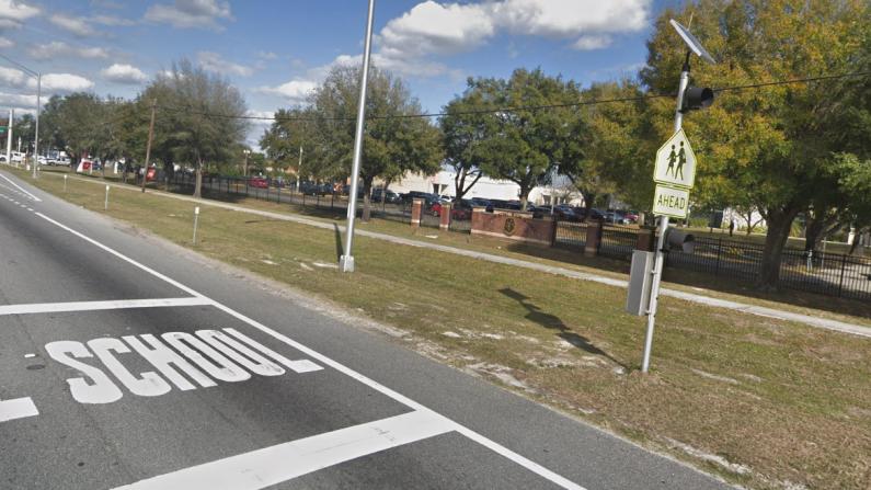Imagen de la escuela King High School in Tampa (Vía: google street view)