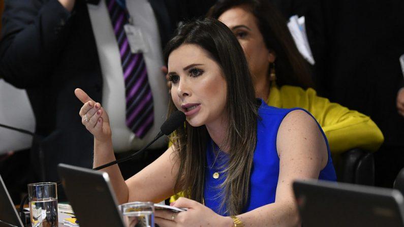 Deputada Caroline de Toni (PSL-SC) (Foto: Jane de Araújo/Agência Senado)