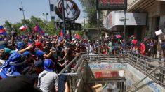 Inteligência chilena: venezuelanos e cubanos participaram de incêndios no metrô