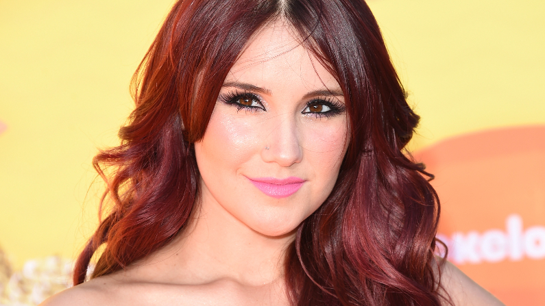 La cantante y compositora Dulce Maria asiste a la XXVIII edición de los premios anuales Kids' Choice Awards de Nickelodeon, celebrada en el Foro el 28 de marzo de 2015 en Inglewood, California. (Jason Merritt/Getty Images)