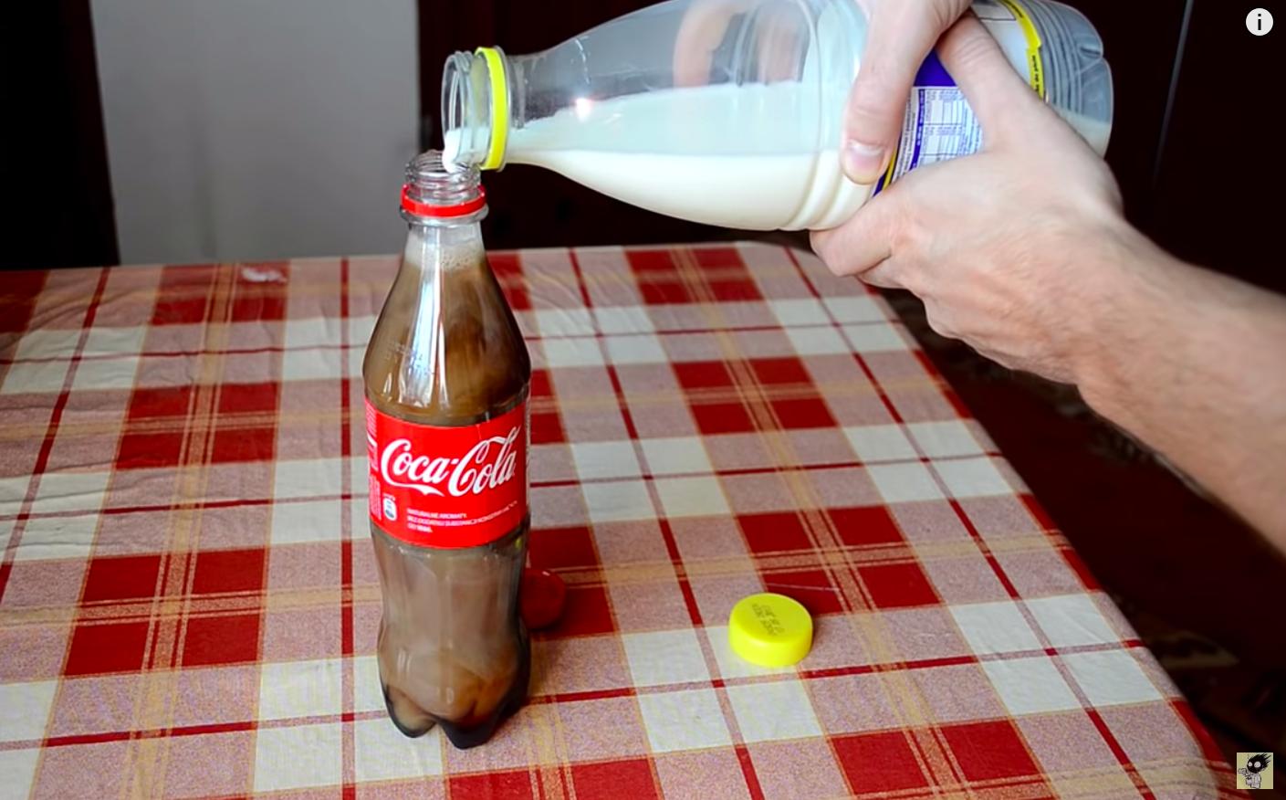 Coca-cola-leche
