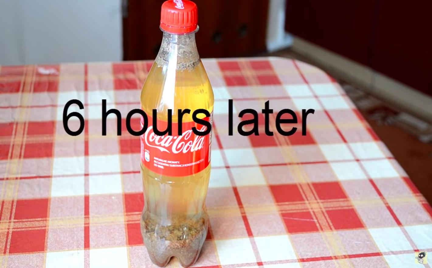 Coca-cola-experimento