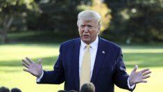 Trump dice que no está viendo las audiencias del impeachment porque está 'demasiado ocupado'