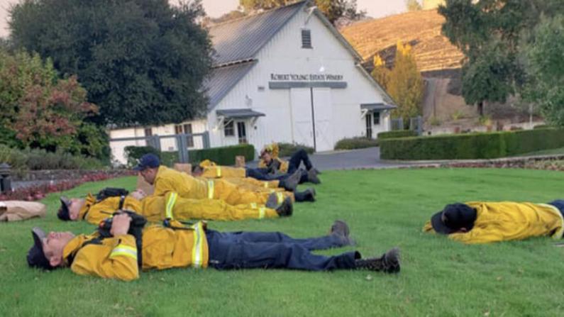 (Foto cortesía de Petaluma Fire Fighters IAFF Local 1415)