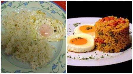 El arroz con huevo es uno de los mejores platillos latinos y ahora puedes pedirlo en los restaurantes