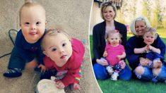 2 madres tienen bebés con síndrome de Down que se convierten en mejores amigos y estrellas de Internet