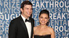 Ashton Kutcher y Mila Kunis desatan debate en las redes: no habrá fondo fiduciario para nuestros hijos