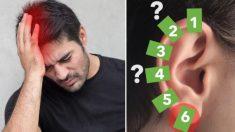 6 trucos instantáneos de reflexología en puntos de la oreja para detener el dolor crónico en 5 segundos