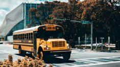 Camionero que sufrió accidente con autobús escolar pone a los niños a salvo antes de fallecer