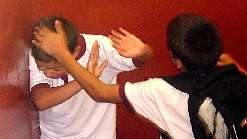 Imagen ilustativa. (Bullying on Instituto Regional Federico Errázuriz/ Wikipedia/CC BY 3.0)