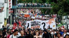 Rezago de las protestas en Colombia genera nuevos disturbios en Bogotá