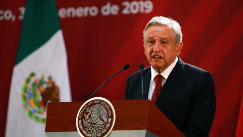 El presidente de México, Andrés Manuel López Obrador. (Manuel Velasquez/Getty Images)
