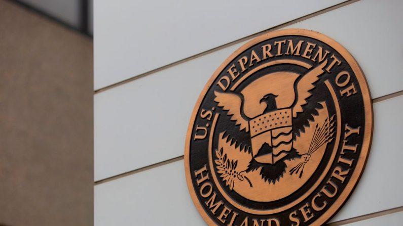 Departamento de Seguridad Nacional de los Estados Unidos en Washington, DC, 22 de julio de 2019. (ALASTAIR PIKE/Getty Images)