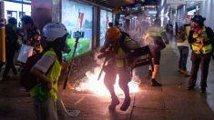 La policía de Hong Kong empieza a usar gas lacrimógeno hecho en China que quema la piel