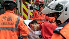 Hongkonés muere por supuesta caída y 64 personas resultan heridas en medio protestas