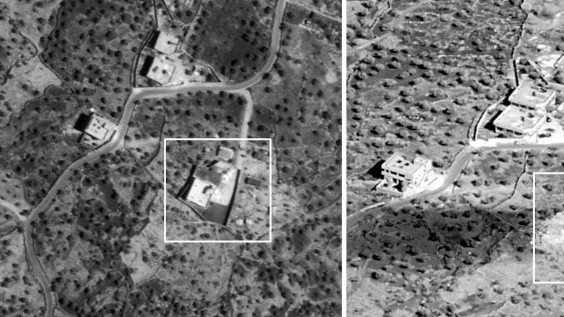 Comparación lado a lado de la ubicación aproximada de las fuerzas de operaciones especiales de los EE.UU. (Departamento de Defensa a través de Getty Images)