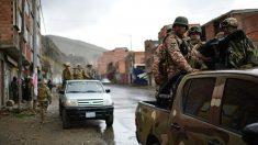 """Ejército de Bolivia saldrá a las calles con la policía hasta """"restablecer la paz en todo el país"""""""