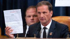 """Miembro del Comité de Inteligencia sobre impeachment: """"Creo que la evidencia se está desmoronando"""""""