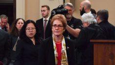 Yovanovitch exigió despido de alto fiscal ucraniano durante las elecciones presidenciales del país