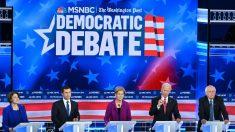El impeachment fue el primer tema del quinto debate demócrata