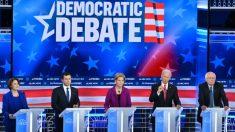 El debate demócrata obtiene apenas 6,6 millones de espectadores, el más bajo en el ciclo de 2020