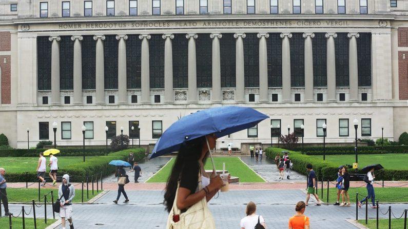 El campus de la Universidad de Columbia en Nueva York, el 1 de julio de 2013. (Mario Tama/Getty Images)
