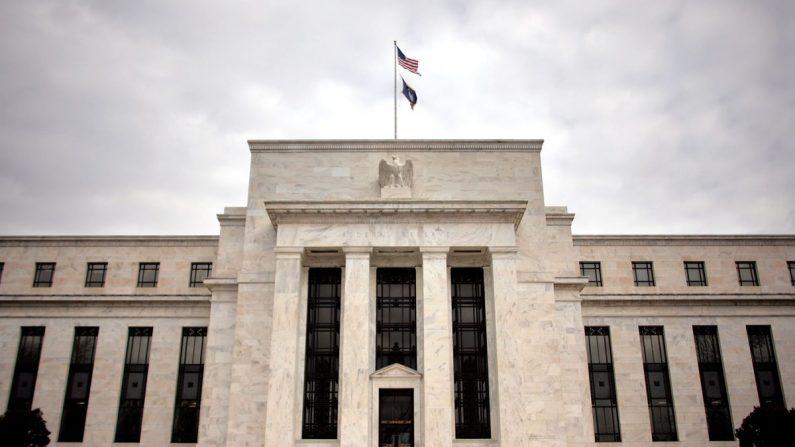 El edificio de la Reserva Federal el 22 de enero de 2008 en Washington, DC. (Foto de Chip Somodevilla/Getty Images)