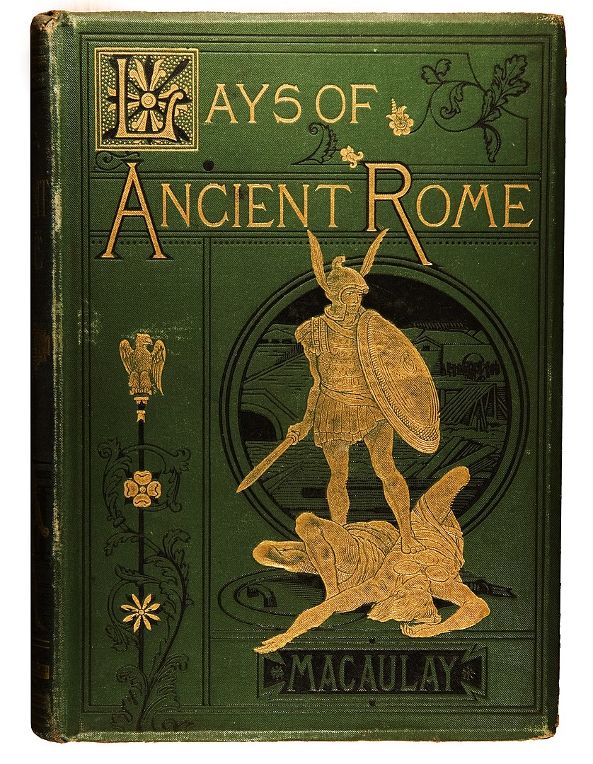 Libro-Lays-of-ancient-rome