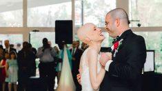 Noiva com câncer no estágio quatro se casa apesar das previsões dos médicos