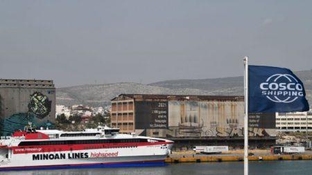 Empresa naviera China invierte en el mayor puerto griego para convertirlo en el más grande de Europa