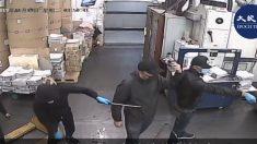 Intrusos enmascarados prenden fuego a la imprenta de Epoch Times en Hong Kong