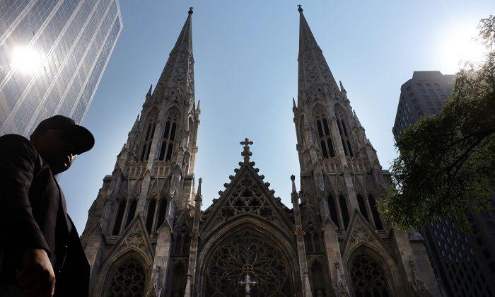 Catedral de San Patricio, sede de la Arquidiócesis Católica Romana de Nueva York en la ciudad de Nueva York, el 8 de septiembre de 2015. (Spencer Platt / Getty Images)