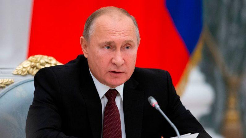 Líder de Rusia, Vladimir Putin (Foto de Alexander Zemlianichenko / AFP / Getty Images)