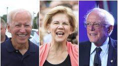 Posturas económicas de los principales candidatos demócratas para 2020: Biden, Sanders y Warren