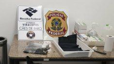 Apreensão de cocaína pela Receita bate recorde em 2019