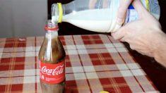 ¿Probó alguna vez mezclar leche con Coca-Cola? El resultado podría cambiar sus gustos en bebida