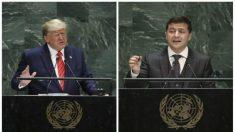Trump publica la transcripción de la llamada telefónica de abril con el Presidente ucraniano