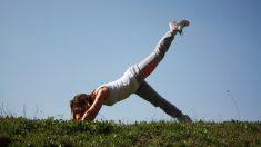 Joven anoréxica con delgadez extrema se salva justo a tiempo gracias al fitness