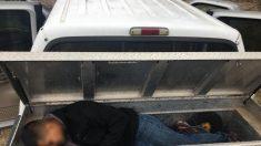 Rescatan en Texas a migrante mexicano dejado en una caja mientras su traficante se da a la fuga