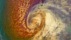Ciclón del Pacífico se mueve por Oregon y California con vientos y nieve para el Día de Acción de Gracias