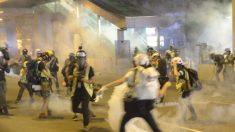 Reportan casos de de cloracné en Hong Kong probablemente por químicos dañinos en el gas lacrimógeno