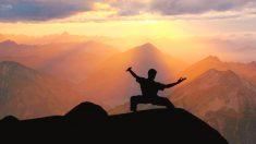 Para crear un poema se necesitan 3 cosas: coraje, fuerza y kung fu