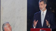 Felipe VI defende direitos humanos e democracia diante do líder cubano Díaz Canel (Vídeo)