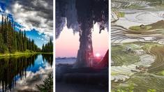 Paisajes de otro planeta adornan nuestra Tierra: 12 lugares de ensueño que debes visitar en esta vida
