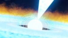 La NASA capta extraordinario estallido de rayos X tras una explosión termonuclear a 11.000 años luz