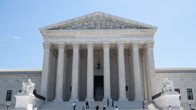 La Corte Suprema es vista en Washington, el 24 de junio de 2019. (Saul Loeb/AFP/Getty Images)