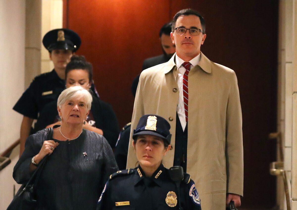 Timothy Morrison declaración a puerta cerrada en Washington